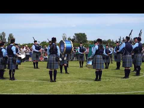 Ross and Cromarty Pipes and Drums School | British Pipe Band Championships 2018