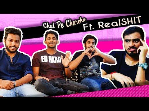 RealSHIT INTERVIEW | Chai Pe Charcha Ft. RealSHIT | RealSHIT talking about Amit Bhadana |