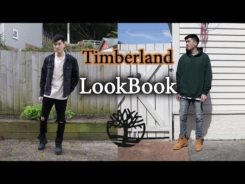 Outfits with Timberlands | Men's Fashion Lookbook | Black & Wheat
