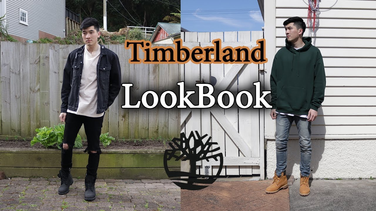 loseta evitar Limitado  Outfits with Timberlands | Men's Fashion Lookbook | Black & Wheat - YouTube