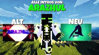 Alle Intros von Arazhul - Vom 08.03.2013 bis 25.05.2016 [1080p]   KalleKonsole