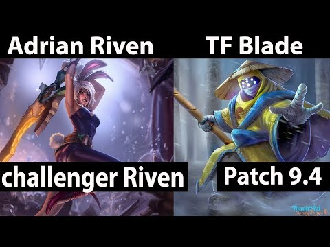 [ Adrian Riven ] vs JAx [ TF Blade ] Top  - Adrian Riven Stream Patch 9.4