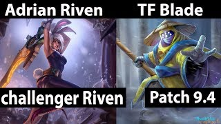 [ Adrian Riven ] vs JAx [ TF Blade ] Top  - Adrian Riven Stream Patch 9.4