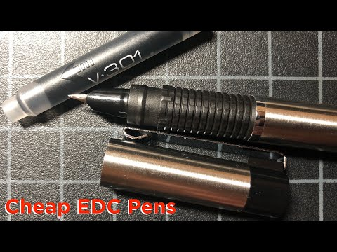 What Is The Best Cheap EDC Pen? Budget Everyday Carry Pen Roundup