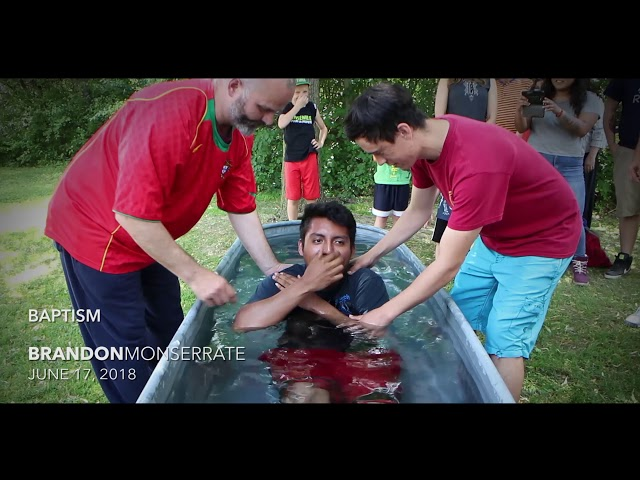 BAPTISM | Brandon Monserrate