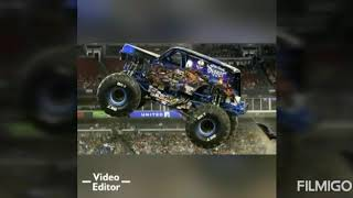 Monster jam Atlanta GA 2019 roblox freestyle.