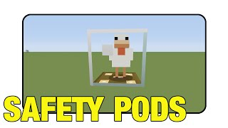 "Safety Pods ""Tutorial"" (Minecraft Xbox 360/One/Ps3/Ps4 TU17)"