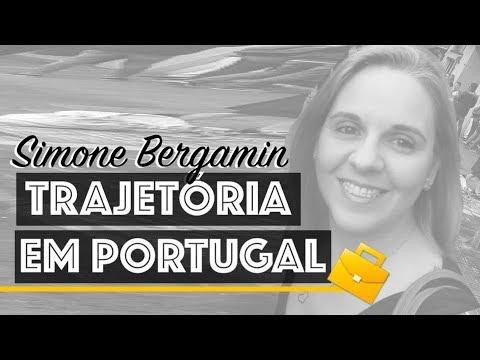 BRASILEIRA EM PORTUGAL   Entrevista Com Simone Bergamin
