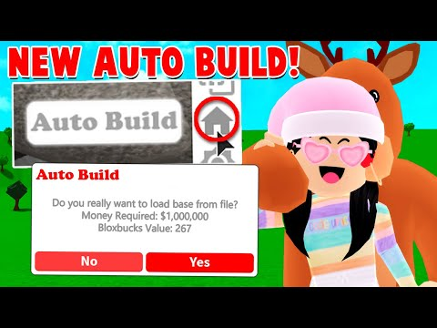 How To AUTO BUILD In Bloxburg?! *DON'T DO THIS...Might Get BANNED?* (Roblox)