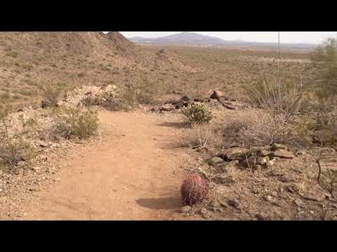 Watson Overlook Hiking Trail l Skyline Park l Buckeye, Arizona