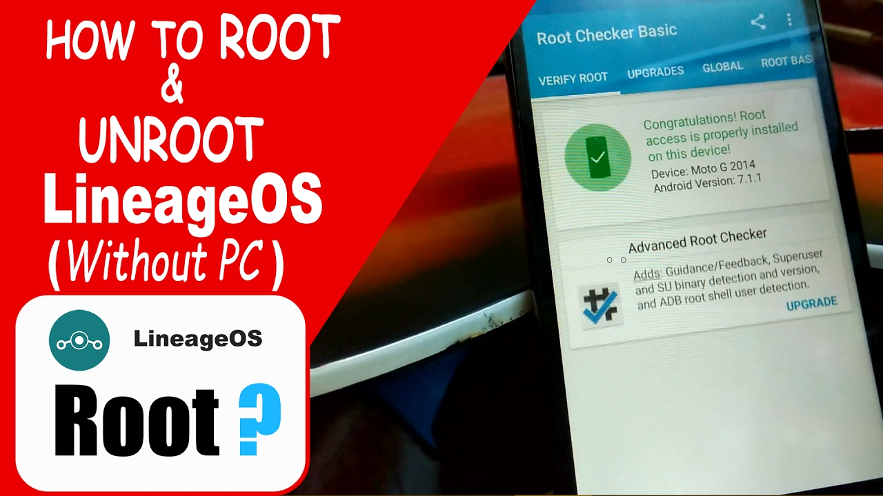 How to ROOT & UNROOT LineageOS on any phone [ Without PC ]