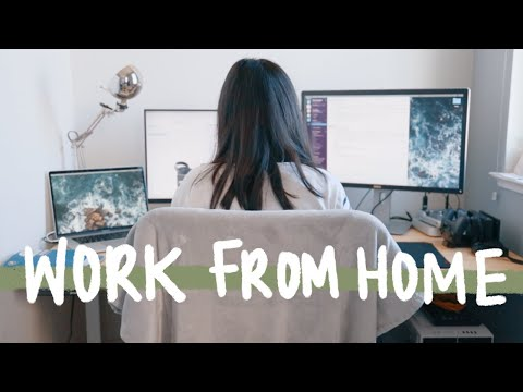 Working From Home // How To Stay Motivated, Focused, And Productive