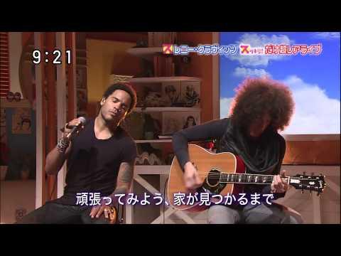 2012 Japan TV Show Lenny Kravitz  Push (acoustic)