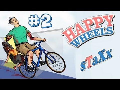 """Happy Wheels Episodio 2 """"Mis niveles"""""""