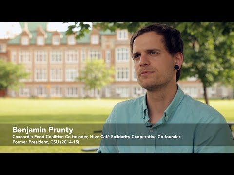 Ben Prunty on Concordia's History with Multinational Food Corporations