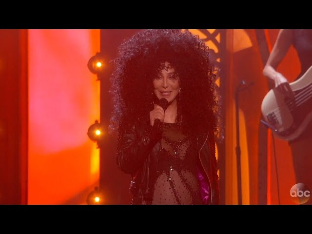 Ageless Cher Turns Back Time in Nude Bodysuit at Billboard Awards