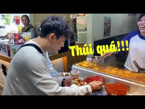 Phản Ứng Của Trấn Thành Khi Lần Đầu Ăn Đậu Hũ Thúi Tại Đài Loan | A Xìn Reaction