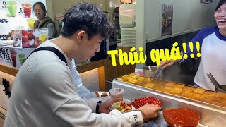 The Reaction of Tran Thanh When Eating Tofu Tofu In Taiwan For The First Time