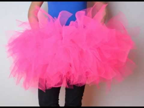 acf946ab2f How to make a TuTu skirt! - YouTube