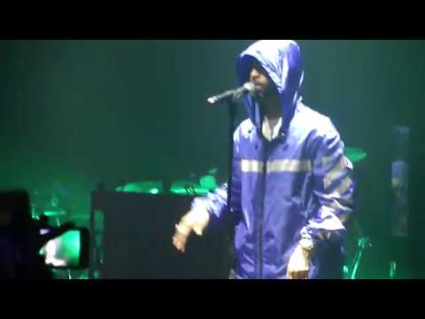 Big Sean I Decided Tour intro: Light, Voices in my Head, Stick to the Plan live @ I Decided Tour, SF