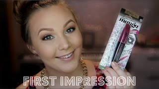 L'oreal Miss Manga Mascara | First Impression/Review Thumbnail