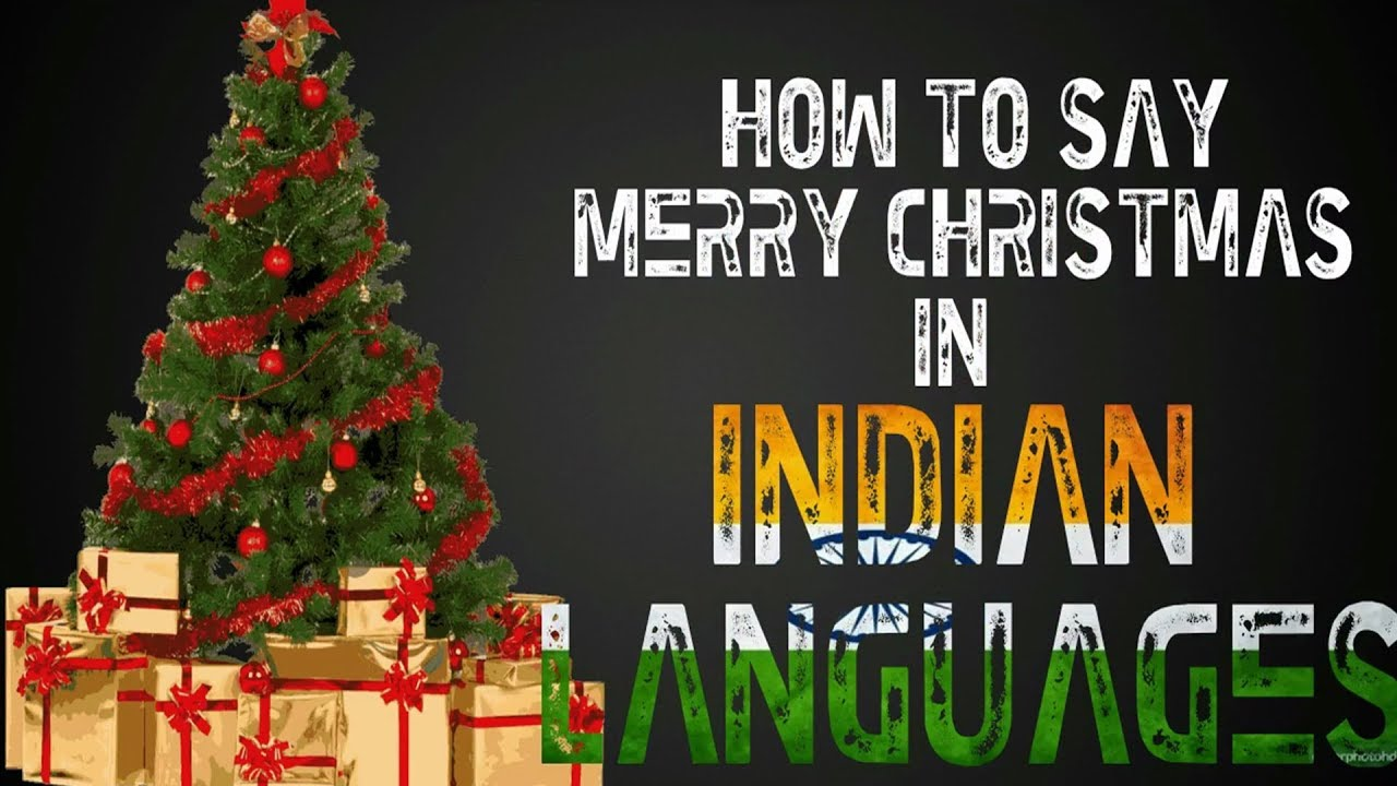 Merry Christmas or Happy Christmas In Different Languages ...