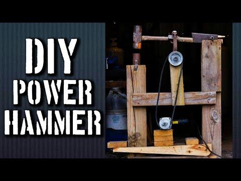 Homemade Power Hammer: REVISTED DESIGN of my Homemade DaVinci Cam Helve Hammer