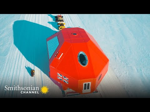 This Remarkable Antarctic Base Can Move Around in Case of Danger | Smithsonian Channel