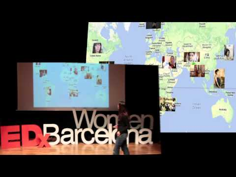 New cyberwave of women's empowerment: Lindsey Nefesh-Clarke at TEDxBarcelonaWomen