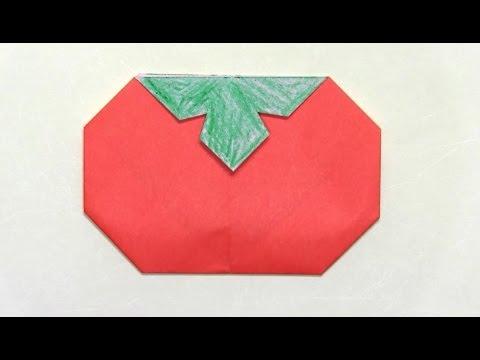 ハート 折り紙:くり 折り紙-youtube.com