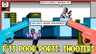 Great Shooters on Inappropriate Systems | Nostalgia Nerd