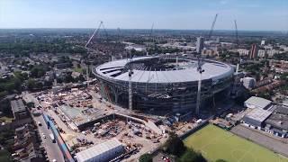 06/06/18 Tottenham Hotspur New Stadium Midweek special Birds Eye View