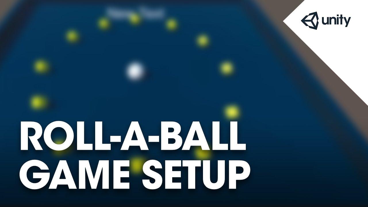 unity3d roll a ball