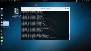 Installing Tor browser in Kali Linux
