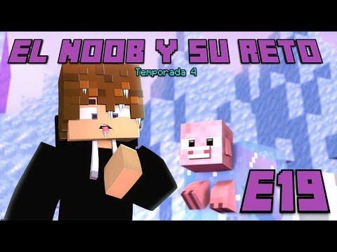 ATRAPADO ENTRE HIELO! E19 El Noob y su Reto 4 - Luzu