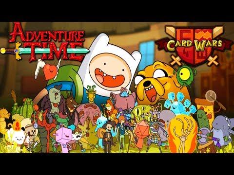 Card Wars: Adventure Time - Jake & Finn - Free Codes! Episode 1 Gameplay Walkthrough Android iOS App