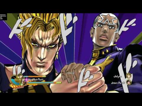 JoJo's Bizarre Adventure: Eyes of Heaven - C-Moon Pucci & DIO Vs. Jot4ro & Jolyne