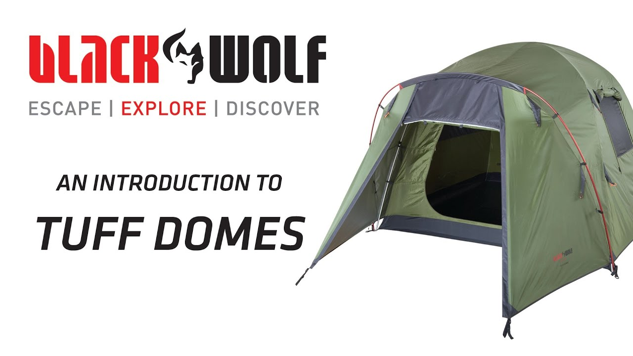 BlackWolf Tuff Dome Tents  sc 1 st  YouTube & BlackWolf Tuff Dome Tents - YouTube