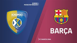 Khimki Moscow Region - FC Barcelona Highlights | Turkish Airlines EuroLeague, RS Round 12