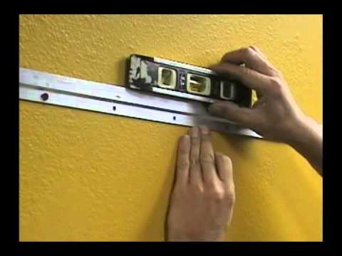 How To Hang Heavy Frame With Z Bar Hanger