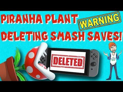Piranha Plant Is Deleting Smash Bros Ultimate Save Files - FUgameNews thumbnail
