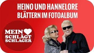 Heino und Hannelore blättern im Fotoalbum