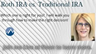 Roth vs Traditional IRA.  Which is best for you?