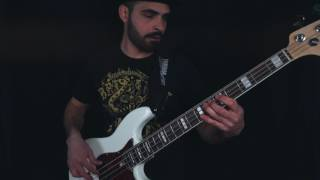 NOS - rage against the machine medley (bass cover)