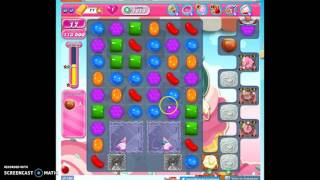 Candy Crush Level 1613 help, playthrough, with no audio