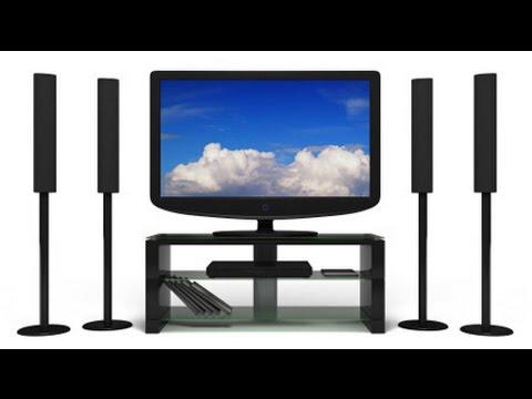 Kako Povezati Tv Sa Kucnim Bioskopom( Gledati Tv Uz 5.1 Zvuk)  ??? HD
