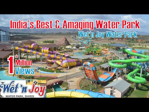 Wet n Joy Water Park Magic Mountain | India's Largest Water Park | Mumbai To Lonavala | 1080p HD