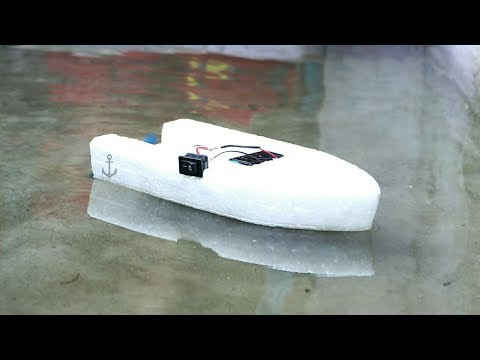 How To Make A Simple Electric Boat At Home