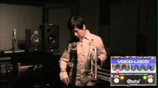 Vince Mai with the Voco-Loco Radial Engineering