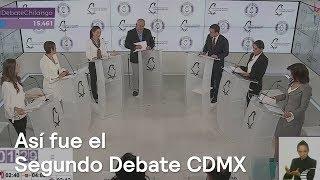 Así fue el segundo debate entre los candidatos al Gobierno ...